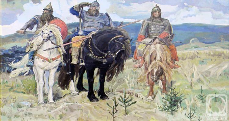 Эссе по картине васнецова богатыри 2685