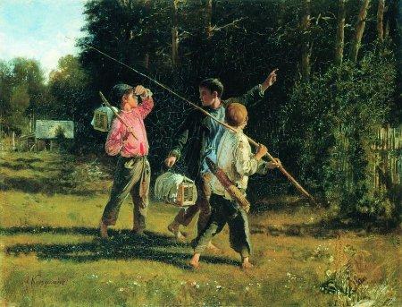 Сочинение по картине А.И.Корзухина «Птичьи враги»