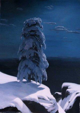 Сочинение по картине И.И.Шишкина «На севере диком…»