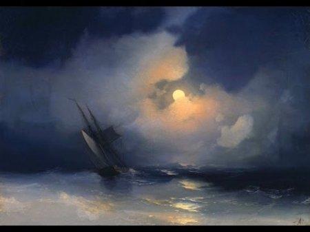 Сочинение по картине И.К.Айвазовского «Буря на море ночью»