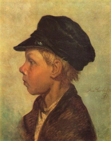 Сочинение по картине Н.П. Чехова «Крестьянский мальчик (Ванька Жуков)»