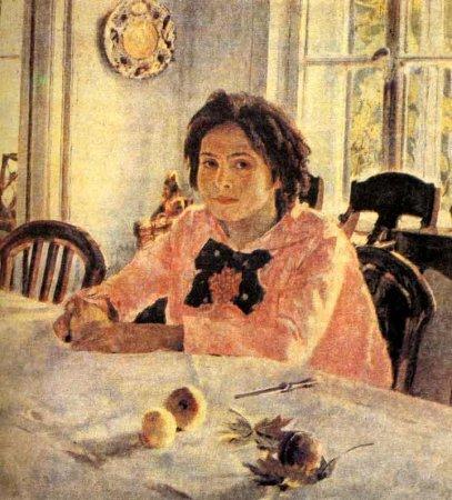 Сочинение по картине Серова «Девочка с персиками»