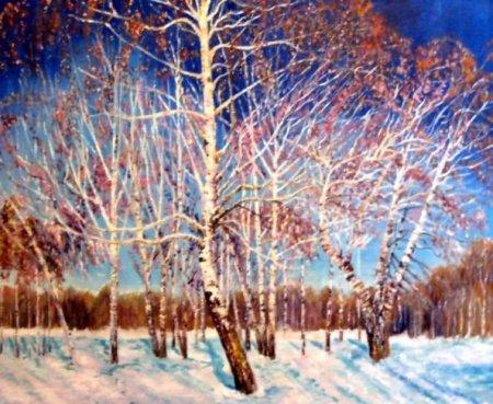 Сочинение по картине «Февральская лазурь» художника Игоря Грабаря