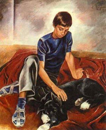 Сочинение-рассуждение по картине Е.Н. Широкова «Друзья»