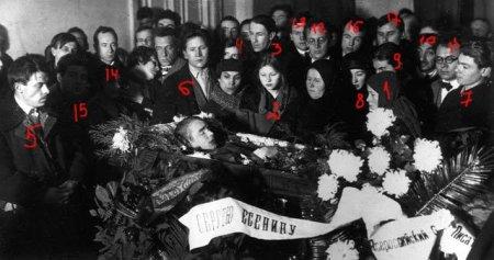 Где умер Сергей Есенин?
