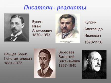 Природа человека в изображении писателей-реалистов демократического направления эпохи рубежа XIX-XX века