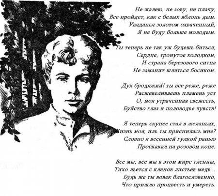 Сергей Есенин стихи о родине