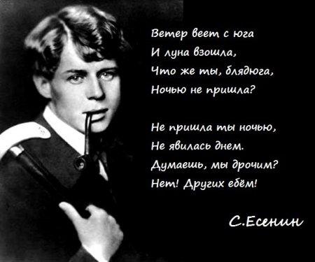 Популярные стихи Есенина